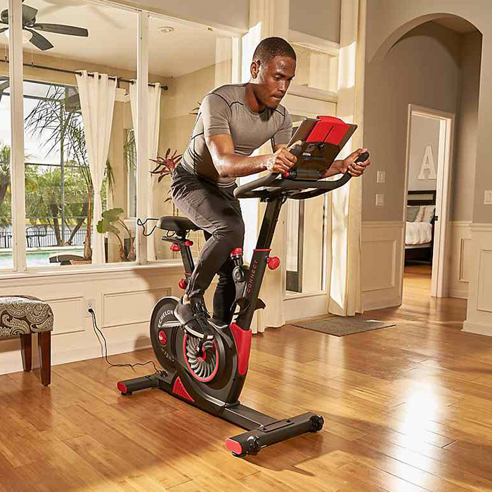 Echelon EX1 exercise bike lifestyle
