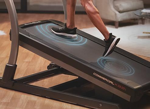 NordicTrack X32i Treadmill Cushioning