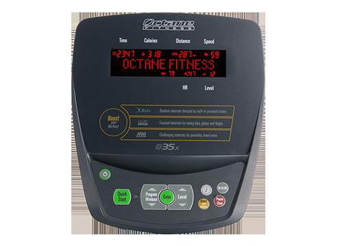 Octane Q35X Elliptical console