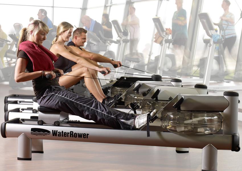 WaterRower M1 HiRise Rowing Machine - Johnson Fitness